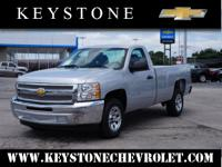 Don't let this 2013 Chevrolet Silverado 1500 Work Truck