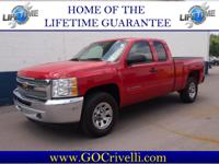 2012 Chevy Silverado! 4 Wheel Drive, and well equipt