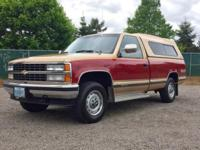 1990 CHEVROLET SILVERADO 1500 4WD PICKUP TRUCK Take a