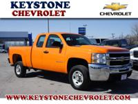 Silverado 2500 HD Extended Cab with cruise control for