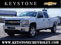 Feast your eyes on this white 2014 Chevrolet Silverado