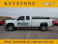 This 2011 Silverado 2500HD Work Truck might be the one