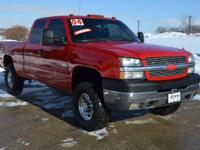 This 2004 Chevrolet Silverado 2500HD CREW CAB 4X4
