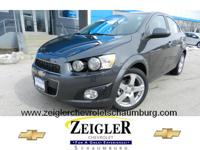 Make your move on this 2013 Chevrolet Sonic LTZ. It has