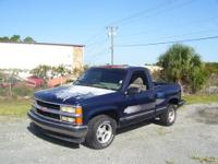 1995 Chevrolet 1500 Stepside, shortbed ,305V8, 5 speed,