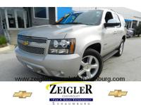 Set your sights on this silver 2009 Chevrolet Tahoe