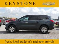 Who could resist this 2011 Chevrolet Traverse LT? It is