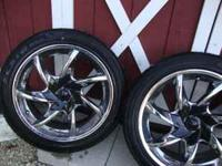 "nice set of 17"" arelli tranz rims wrapped with"
