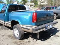 Total Step Side Bed - 93 Chevrolet Silverado 1500.