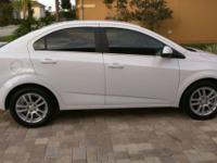 2014 CHEVROLET SONIC 4 DOOR SEDAN LT. AUTOMATIC, POWER