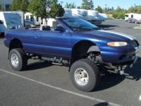 Sebring convertible, mounted on 1986 Full Size Blazer