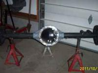 FOR SALE: 12 BOLT CHEVY REAR END. CAME OUT OF A FIRST