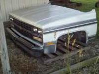 This is a complete RUST FREE front clip from 1991 Chevy