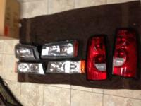 I have a pair of stock 2006 Chevy 2500 head lights and