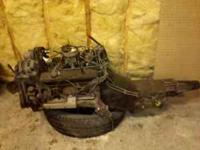 305 ENGINE AND TRANS OUT OF 1990 1/2 TON PICKUP WITH