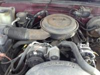 Selling a 305 V-8 in a 1995 Chevy 1500 truck. Motor