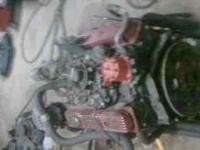 Gm 350 4 bolt main throttle body engine...complete from