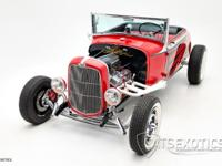 1932 Ford Model A LowBoy Bomber finished in Red over