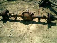 Chevy one ton 4wd dually rear axle $300, Dana 60 front