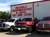 Reliable Transmissions has a fantastic reduced special