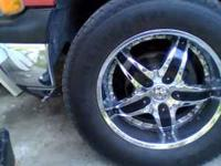 I have set of 20's rims. Has good thread. they will