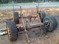 I have a set of 4x4 axles out from what looks like a