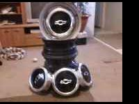 I have a set of chevy 5 lug rims and hubs in great
