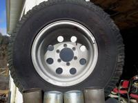 These came off of my 90 Chevy Suburban. The Wheels are
