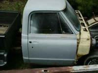 1967 CHEVY A/C TRUCK CAB WITH TITLE. $500.00 OBO-- WILL