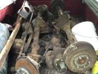 Jeep CJ axles- slim track amc 20 with one piece Yukon