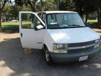 We wanna sell our 2002 Chevrolet Astro cargo Van. We