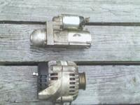 LESS THAN 2 YEARS OLD: STARTER & ALTERNATOR $75 EACH,
