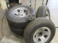 2000-? Chevy Astrovan Complete set of Rims and Tires