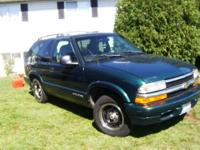 1998 CHEVY BLAZER NICE GREEN MACHINE COMES WITH STEREO