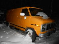 1993 GMC Cargo Van Runs on Propane 165,000 Propane