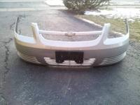 2002-2008 silver front bumper chevy trailblazer 100$ no