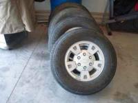 FOR SALE FACTORY RIMS & TIRES FOR CHEVY COLORADO 6 LUG-