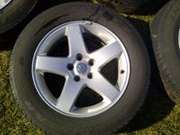 "(4) CHEVY COLORADO MACHINE FACTORY OEM 16"" DOUBLE SPOKE"