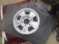These are 2006 Chevy Colorado wheels. They are factory