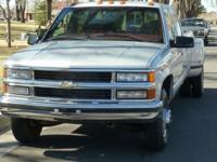 '97 Chevy 3500, long-bed, crew-cab, with only 50K