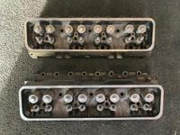 SMALL BLOCK CHEVROLET CYLINDER HEADS CAST # 12554290