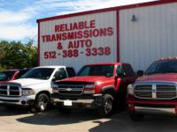 Reliable Transmissions has a great cash special going
