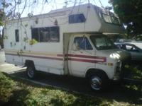 1979 Chevy Itasc Motorhome runs sleep 5 people