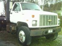 93 chevy Kodiak with 16ft flat bed 231900 mi. 215hp