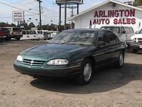Chevy Lumina with 55,000 miles on it. The car runs