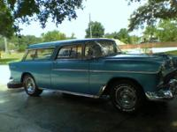 1955 Chevy Wanderer, all initial from fronts lights to