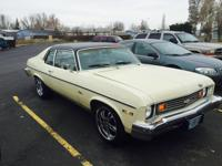 The first 5'000.00 takes it. 1974 chevy nova, v8, 350,