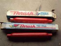2 Never Been used 2 in. Thrush Glasspack Mufflers ($60