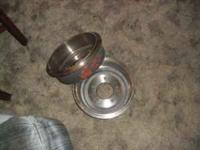 "I've got this new pair of Chevy C-10 15"" Brake Drums,"