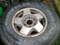 Have a set of factory chevy rims. 16's 6 lug. Asking
